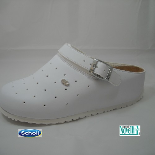 DR SCHOLL CLOG SOPHY WHITE