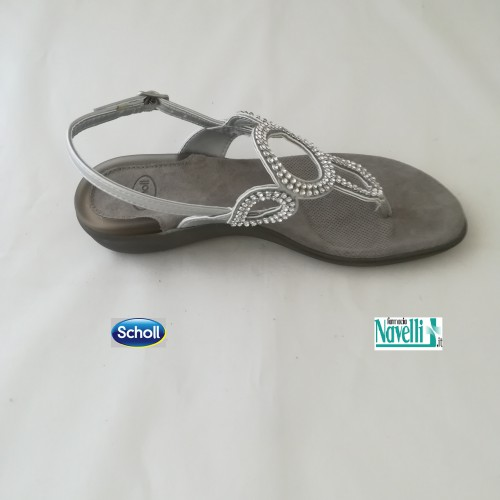 DR SCHOLL GLOSSY ARGENTO